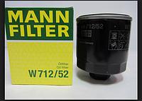 Масляный фильтр MANN W712\52