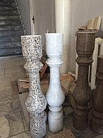 Балясины, перила, шары из мрамора и гранита