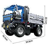 Конструктор радиоуправляемый 2,4Ггц CaDa Technic Самосвал 638 деталей (C51017W)) аналог лего Lego Technic, фото 4