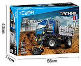Конструктор радиоуправляемый 2,4Ггц CaDa Technic Самосвал 638 деталей (C51017W)) аналог лего Lego Technic, фото 2