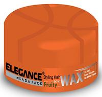 Воск для волос с экстрактом фруктов Elegance для сильной фиксацией и придающий дополнительный объем 140 гр.