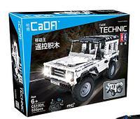 Конструктор на радиоуправлении 2,4Ггц Cada Technic джип Land Rover 533 детали (C51004W) аналог Lego Technic