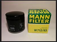 Масляный фильтр MANN W712\83
