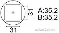 A1203B, Сменная головка для HAKKO FR-803B, 35x35