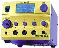 Hakko FM206, Многофункциональная 3-х канальная цифровая паяльная станция с композитными сменными головками