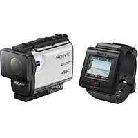 Экшн-камера Sony FDR - X3000R (FDRX3000R/W) + ПДУ Live-View (RM-LVR3) + Аквабокс (MPK-UWH1)