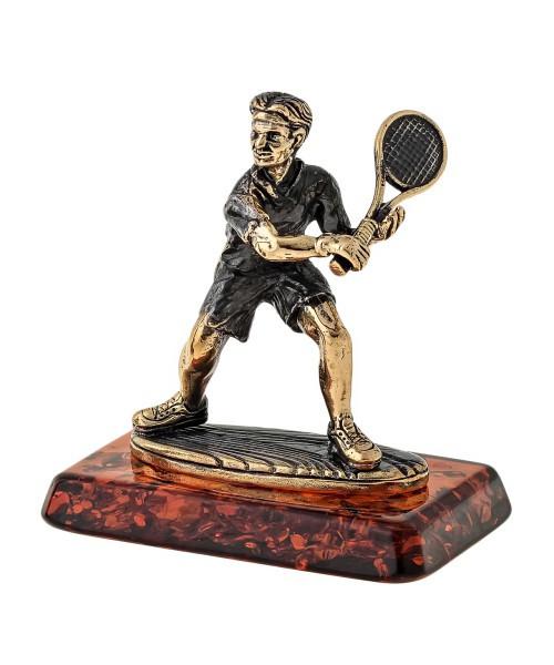 Фигурка Теннисист. Ручная работа
