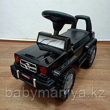 Толокар машинка-каталка Mercedes, черный