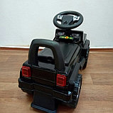Толокар машинка-каталка Mercedes, черный, фото 3