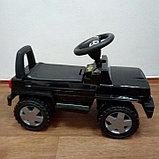 Толокар машинка-каталка Mercedes, черный, фото 2