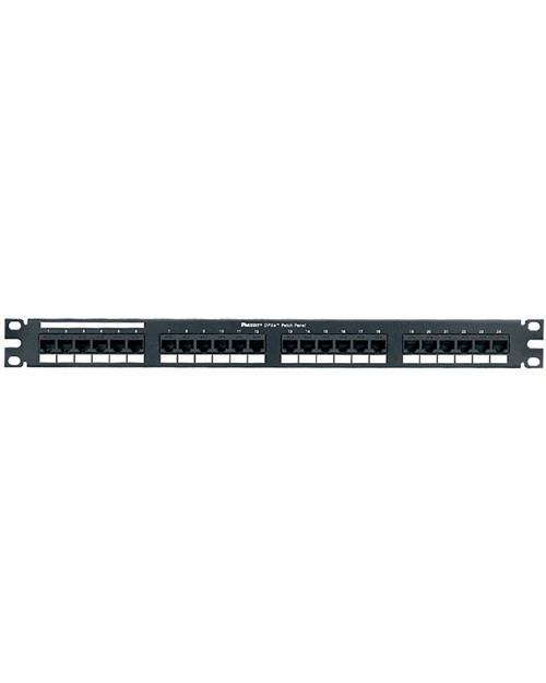 3М UU001622883 Коммутационная панель (CLASSIC) наборная, 24 порта,  1U, черная, с органайзером