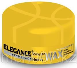 Воск для волос с экстрактом меда Elegance для сильной фиксацией и придающий дополнительный объем 140 гр.