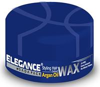 Воск для волос с аргановым маслом Elegance для сильной фиксацией и придающий дополнительный объем 140 гр.