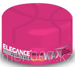 Воск для волос с маслом макадамии Elegance для сильной фиксацией и придающий дополнительный объем 140 гр.