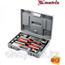 Набор рихтовочный, 4 наковальни, пластиковый бокс. MATRIX 10845