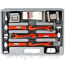Набор рихтовочный, 4 наковальни, пластиковый бокс. MATRIX 10845, фото 3