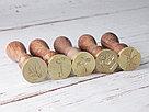 Печати для сургуча на заказ. Диаметр 25 мм., фото 3