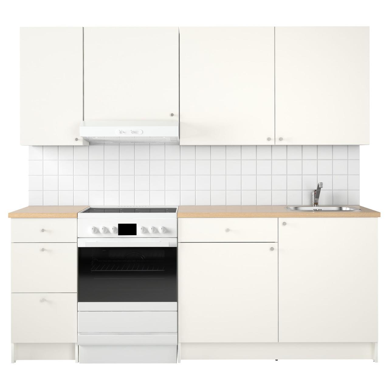 КНОКСХУЛЬТ Кухня, белый