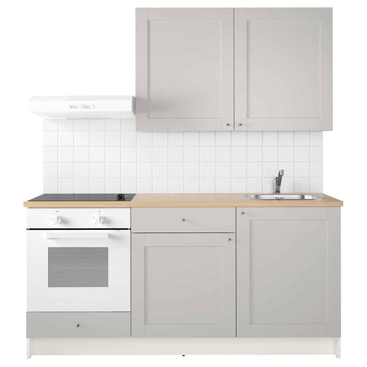 КНОКСХУЛЬТ Кухня, серый