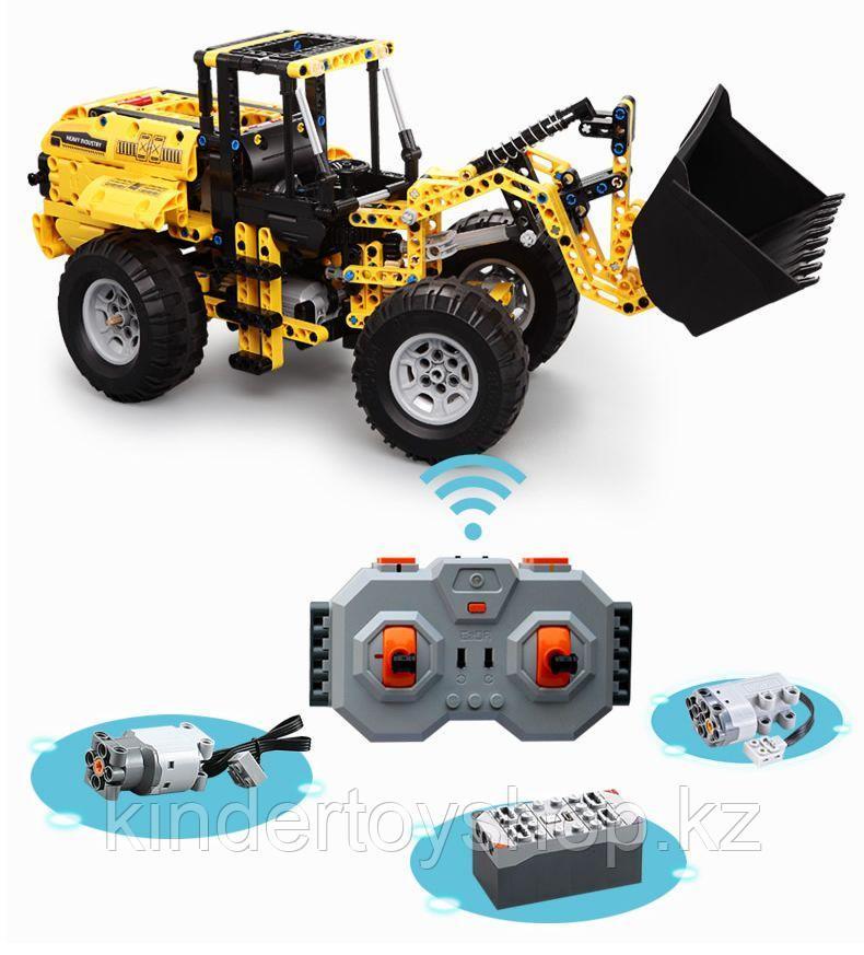 Конструктор на радиоуправлении CaDa Technic 2.4GHz Самосвал  491 деталей C51058W аналог Legо Technic
