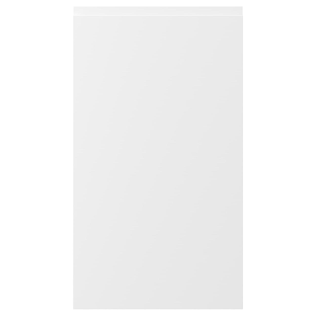 ВОКСТОРП Фронт панель для посудом машины, матовый белый белый