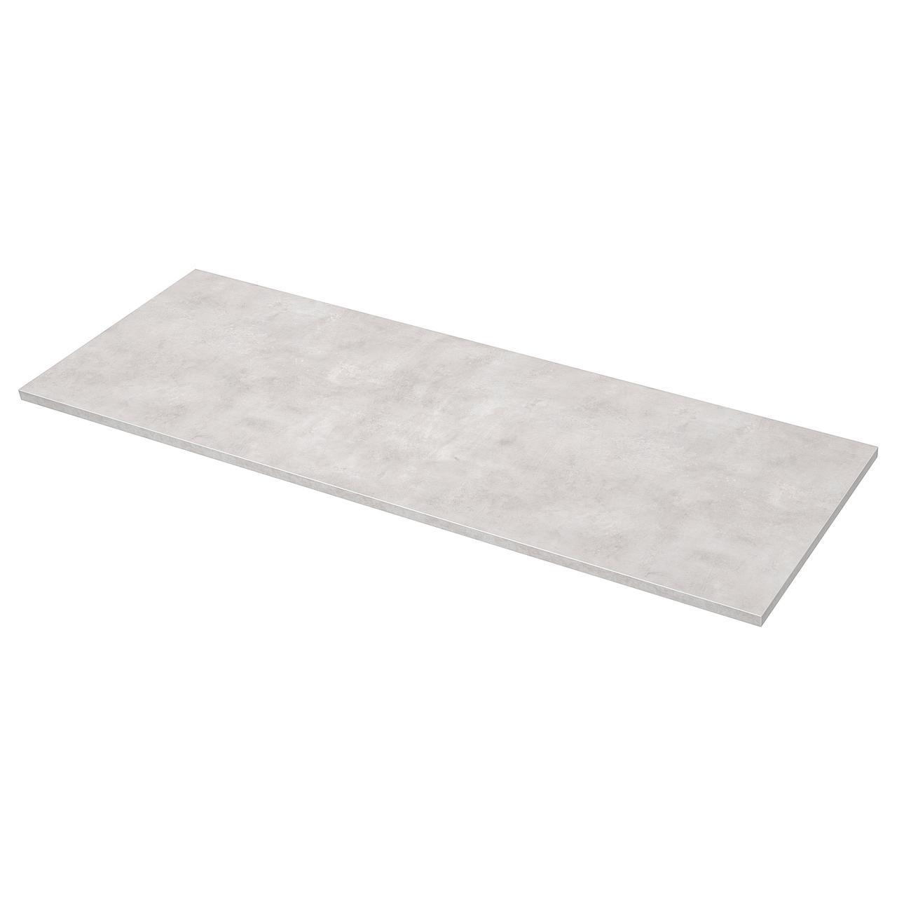 ЭКБАККЕН Столешница, светло-серый под бетон