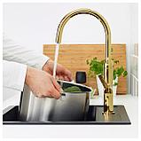 НИВАТТНЕТ Смеситель кухонный, полированная латунь полированный, фото 2