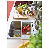 ЭЛМАРЕН Кухон смеситель с выдвижным носиком, цвет нержавеющей стали, фото 5