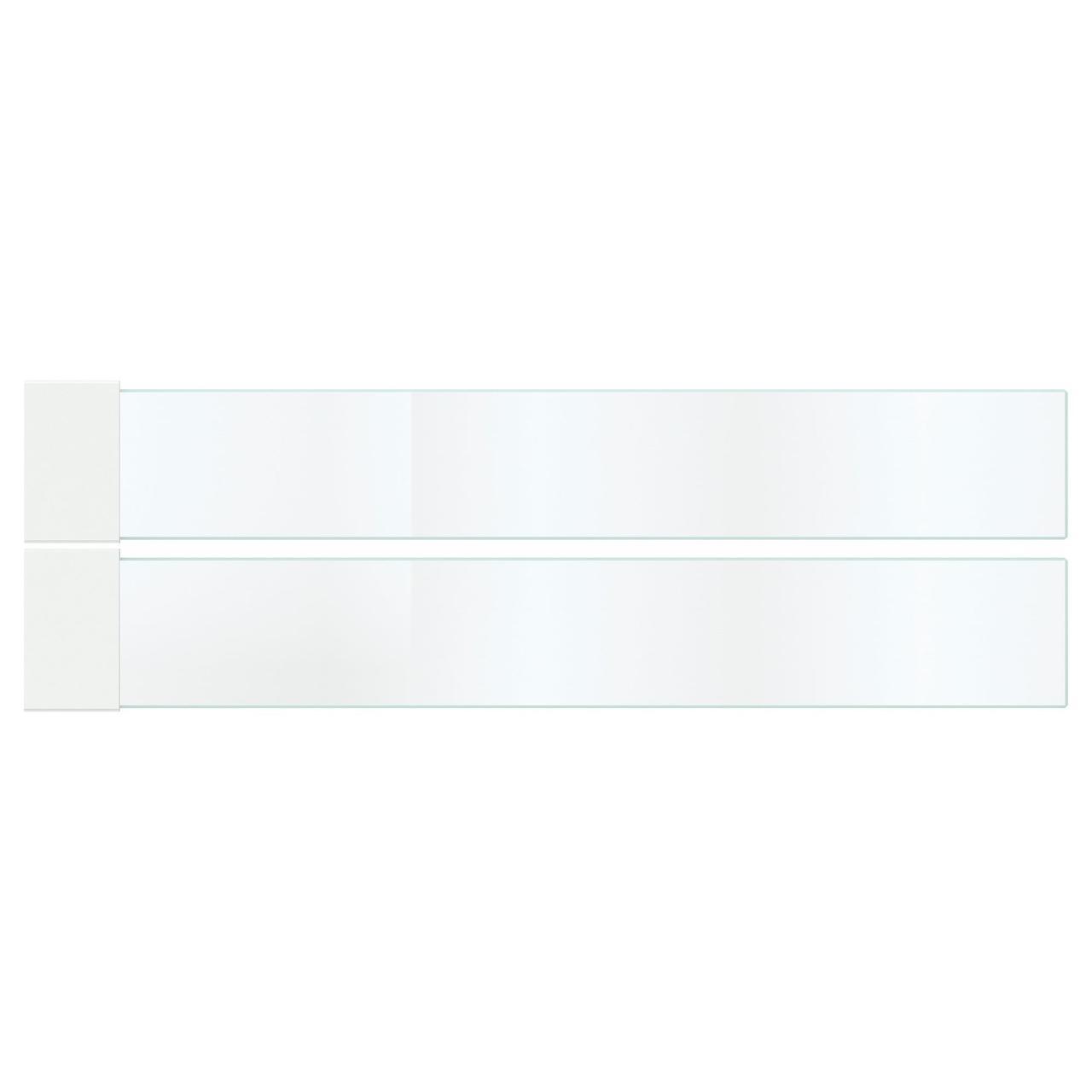 МАКСИМЕРА Дополнит боковина д/ящика, средняя, стекло