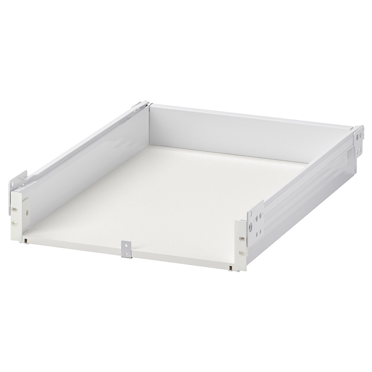 ФОРВАРА Ящик, низкий, белый