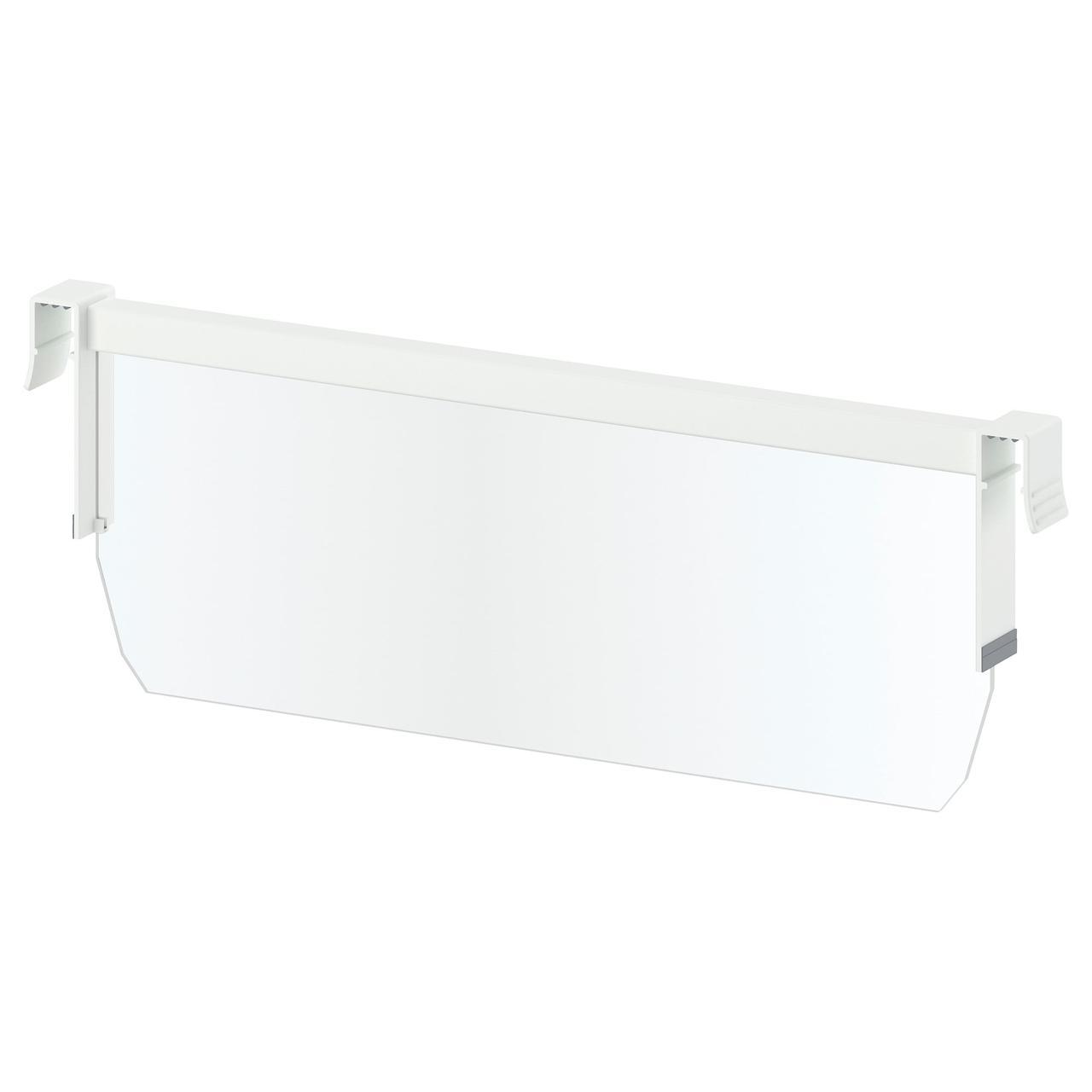 МАКСИМЕРА Разделитель д/среднего ящика, белый, прозрачный