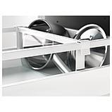 МАКСИМЕРА Разделитель д/среднего ящика, белый, прозрачный, фото 4