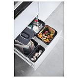 ВАРЬЕРА Вентилируемый контейнер д/мусора, черный, фото 6