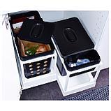 ВАРЬЕРА Вентилируемый контейнер д/мусора, черный, фото 8