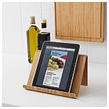 ВИВАЛЛА Подставка для планшета, бамбуковый шпон, фото 2
