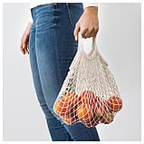 КУНГСФОРС Сетчатая сумка, 2 шт., неокрашенный, фото 4