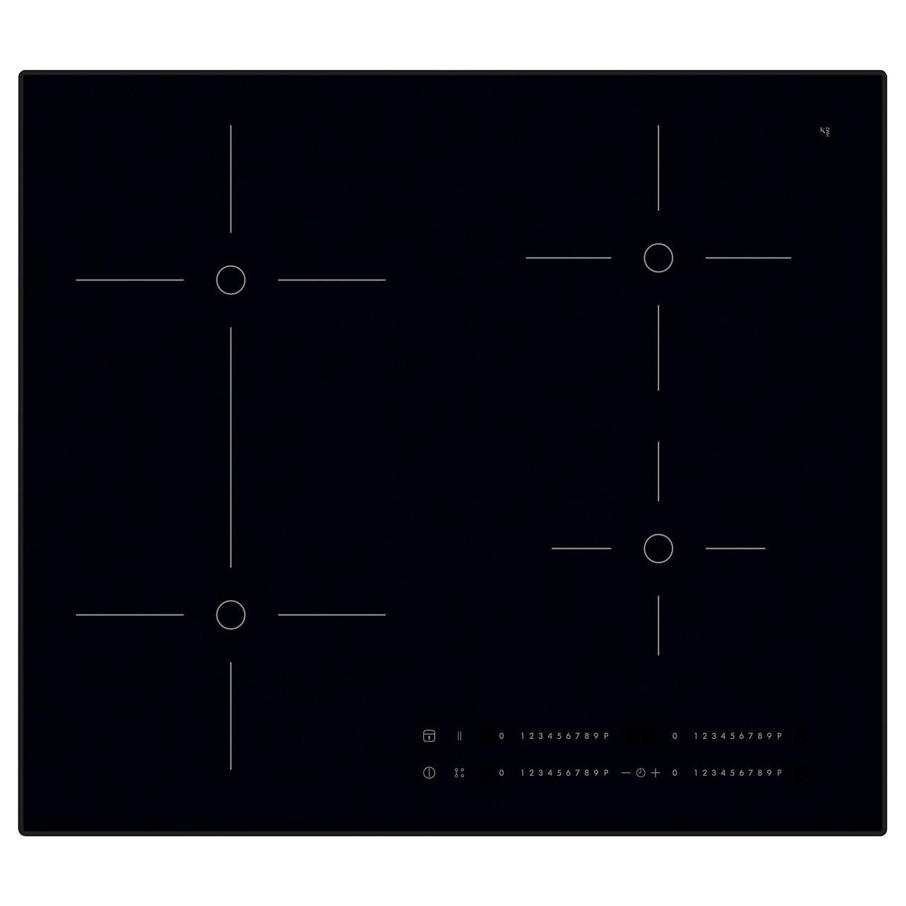 СМАКЛИГ Индукц варочн панель, черный