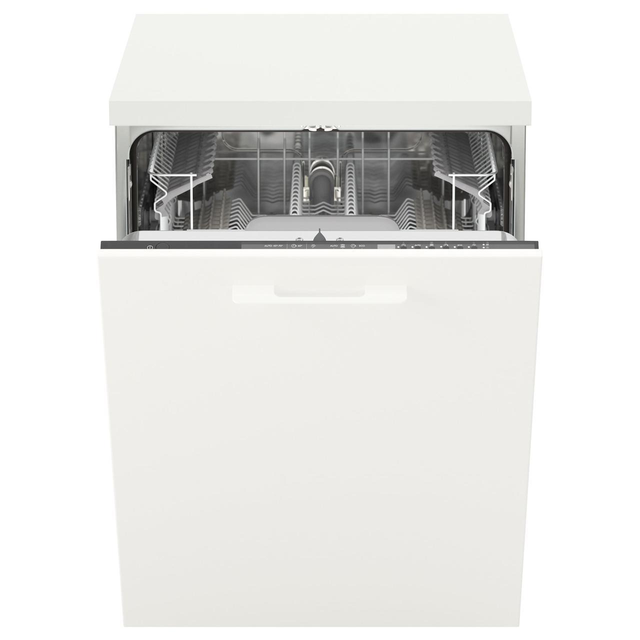 СКИНАНДЕ Встраиваемая посудомоечная машина, серый