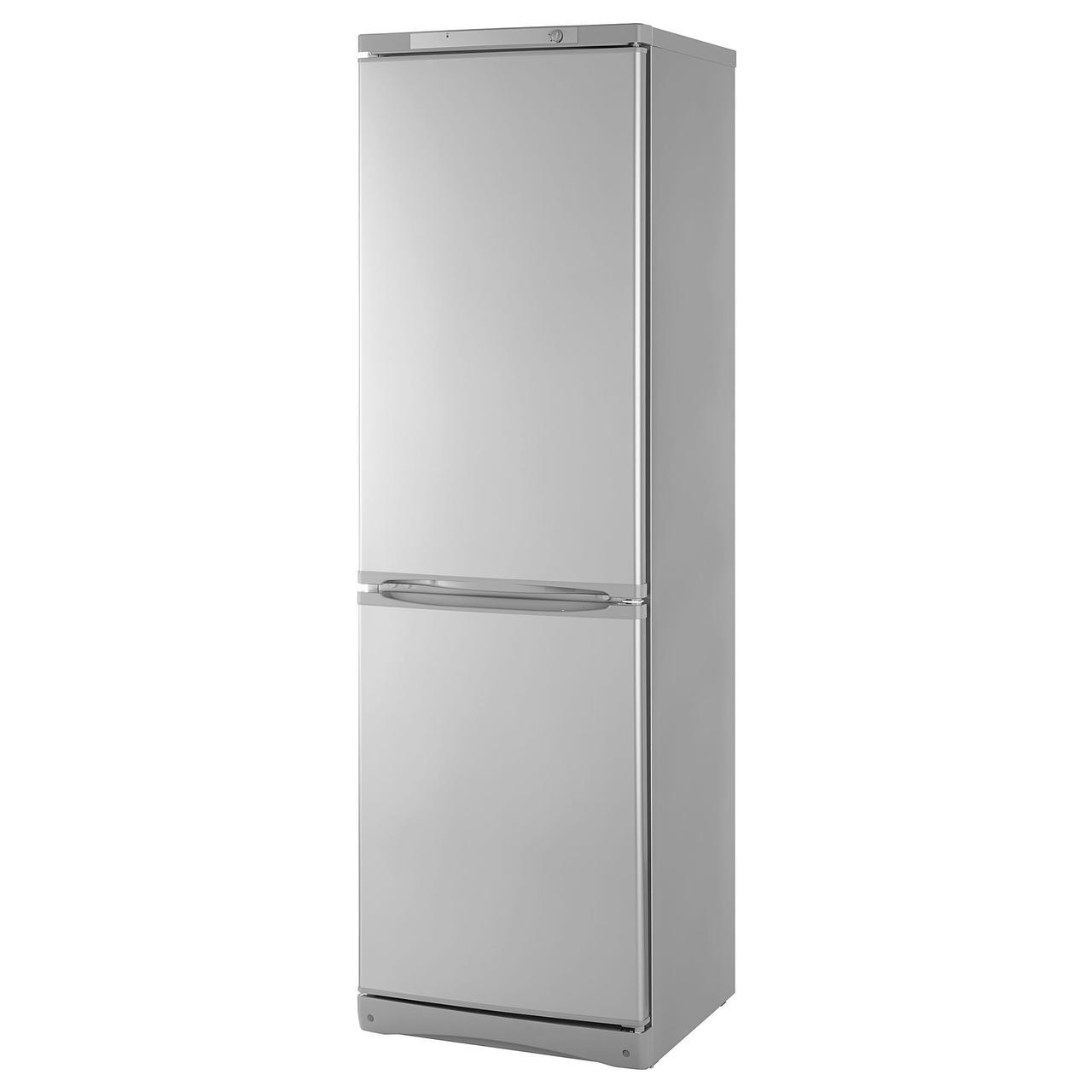НЕДИСАД Холодильник/ морозильник, серебристый