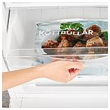 НЕДИСАД Холодильник/ морозильник, белый, фото 3