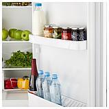 НЕДИСАД Холодильник/ морозильник, белый, фото 7