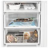 НЕДИСАД Холодильник/ морозильник, белый, фото 8