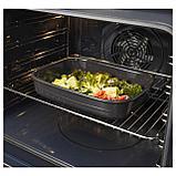 ВАРДАГЕН Форма для духовки, прямоугольн формы, темно-серый, фото 2
