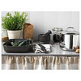 ВАРДАГЕН Форма для духовки, прямоугольн формы, темно-серый, фото 4