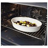 ВАРДАГЕН Форма для духовки, овал, белый с оттенком, фото 2