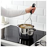 ИКЕА 365+ ЙЭЛТЕ Толкушка для картофеля, нержав сталь, черный, фото 2