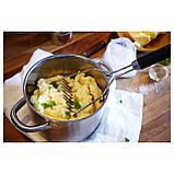 ИКЕА 365+ ЙЭЛТЕ Толкушка для картофеля, нержав сталь, черный, фото 3