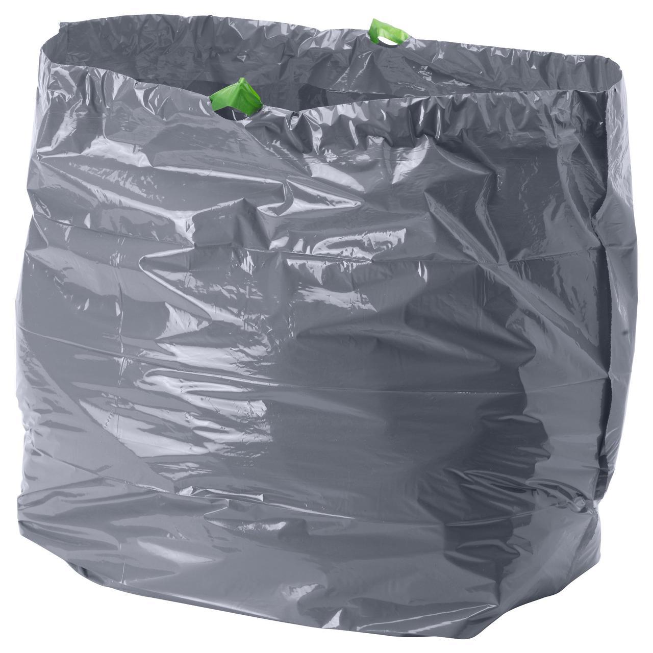 ФОРСЛУТАС Мешок для мусора, серый