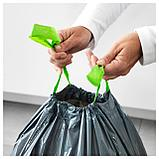 ФОРСЛУТАС Мешок для мусора, серый, фото 2