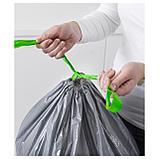 ФОРСЛУТАС Мешок для мусора, серый, фото 3